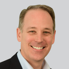 Headshot of Andrew Neblett, President of ALM Intelligence