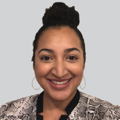 Headshot of Raine Ettridge Gray, Account Executive, Judy Diamond Associates