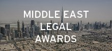 Leading law firms and in-house legal departments to enter the Middle East Legal Awards.